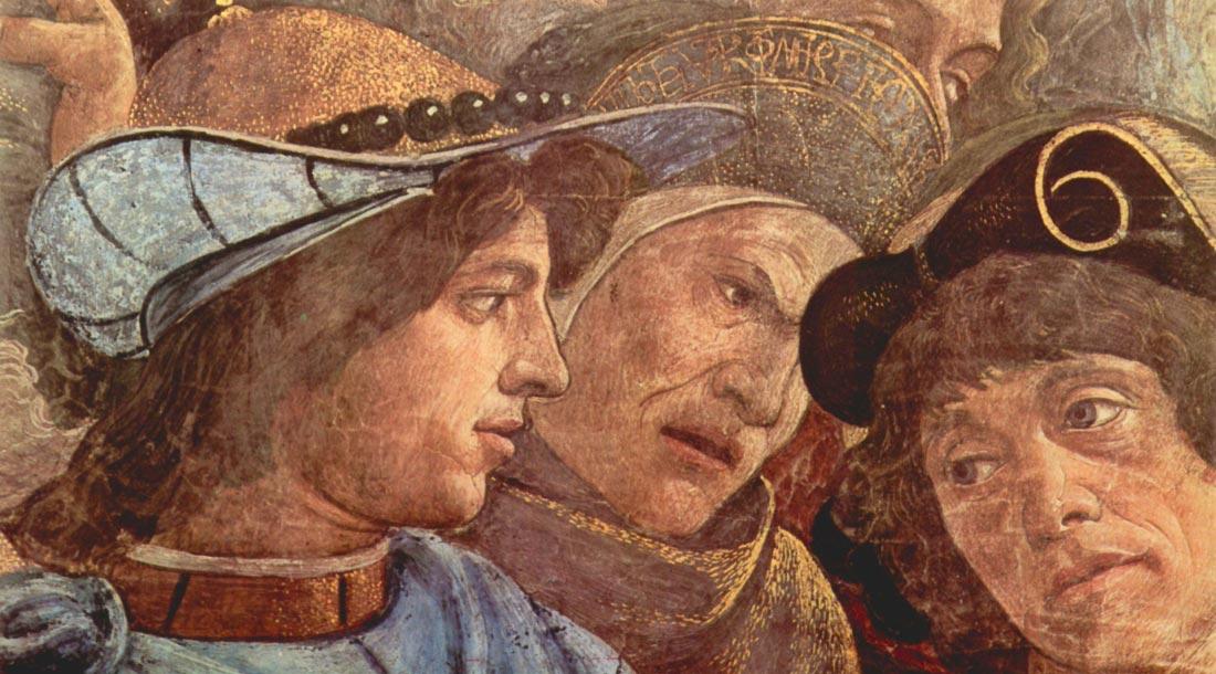Sistine Chapel - punishing the Levites detail [1] - Botticelli